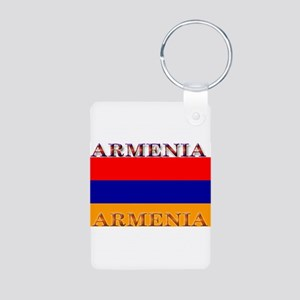Armenia Aluminum Photo Keychain